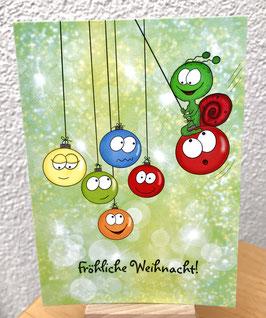 Postkärtle - 340 - Fröhliche Weihnacht!