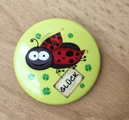 316 Button - Glückskäferli