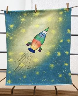 """305 Stoff-Panel  """"Rakete"""""""