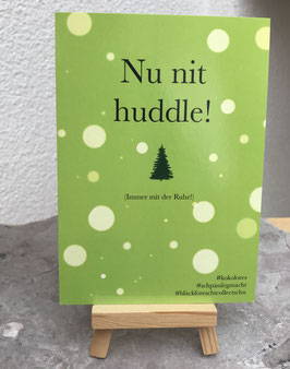 Postkarte Bläckforescht 14 - Nu nit huddle
