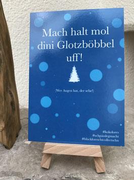 Postkarte Bläckforescht 04 - Glotzböbbel