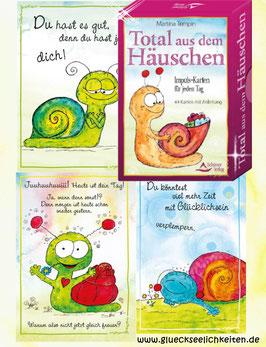 """""""Total aus dem Häuschen"""" - 44 Impuls-Karten für jeden Tag"""