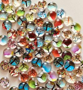 Die Glassteinchen - 5er-Päckle - die Minis