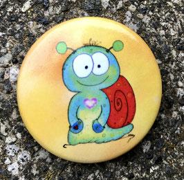 379 Button - Das Schneckchen