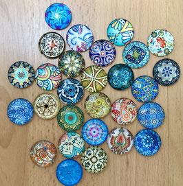 Die Glassteinchen - 2er Päckle - Mosaik