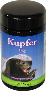 Kupfer 3 mg 200 Vcaps