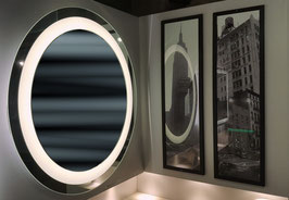 Miroir éclairant rond diamètre 800mm