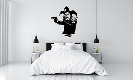 ADHESIF BANKSY GUN CLOWN