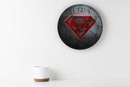 HORLOGE SIGLE SUPERMAN