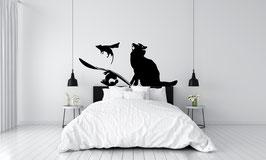 ADHESIF BANKSY MOUSE CAT