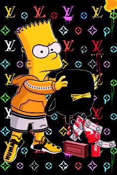 Bart vide son sac
