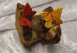 Holz mit Schmetterling 2