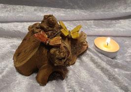 Holz mit Schmetterling IIII