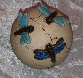 Runde Kugel mit Libellen