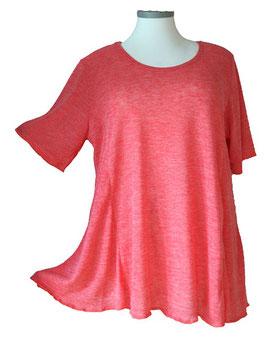 Poly-SoftTouch SunShine Shirt in 6-Bahnen A-Linie Lachs Rosé (FS-143)