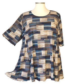 SunShine Shirt in 6-Bahnen A-Linie Cool Blue & More (MD-19)