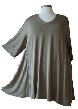 SunShine T-Shirt in A-Linie mit V-Ausschnitt Viskose Kiwi (UC-154-10)