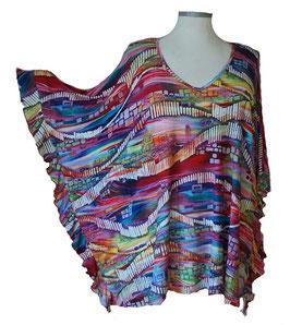 ButterflyCut Shirt Happy-Colors (BC-773)