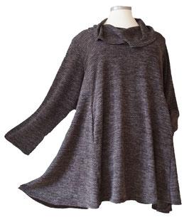Long Pullover mit Schalkragen (MA-Nr.04)
