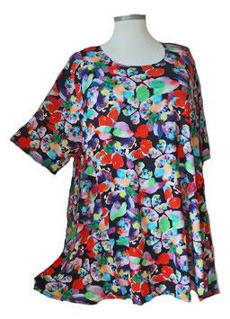 SunShine T-Shirt Expressiv-Colors-Schwarz-Bunt (MD-936)
