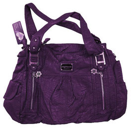 Handtasche ANGELBARCELO Purple (HT-604)