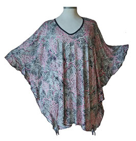 ButterflyCut Shirt Korallen Rosa Grau (BC-783)