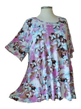 SunShine T-Shirt Flower Violet Blue (MD-924)