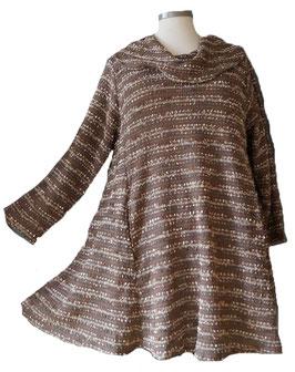 Long Pullover mit Schalkragen (MA-Nr.08)