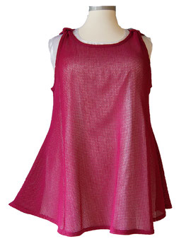 Sunshine Top Netz Fuchsia (MVT06)