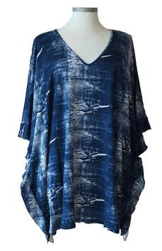 ButterflyCut Shirt Jeans-Art-Designs Blue & White (BC-770)