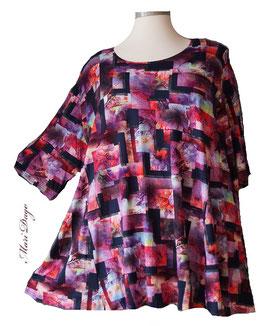 SunShine Shirt in A-Linie - Grafik - (Vis-03-20-23)
