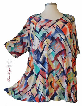 SunShine Shirt in A-Linie - Big Colors 2- (AS-0220-26)