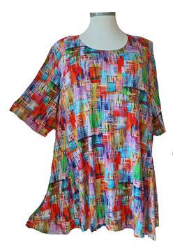 SunShine T-Shirt Bunte Farbblöcke (MD-939)