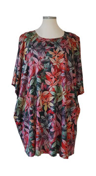 Tropic Nights-Design-Nr.3 ButterflyCut Poncho Pullover (BC-2171-3)