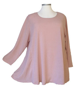 Poly-Feinstrick Pullover Rosa (P-661) (L24)