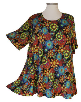 SunShine Shirt in 6-Bahnen A-Linie Big-Hip-Colors-2 (MD-35)