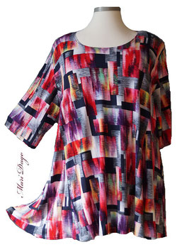 SunShine Shirt in A-Linie - Grafik Arts - (MD-48)