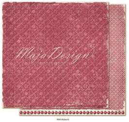Maja Design - Christmas Seasons - Advent - 12x12""