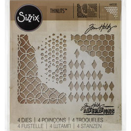 Sizzix by Tim Holtz Thinlits-Stanzform/Mixed Media