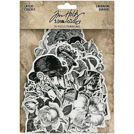 Idea-Ology by Tim Holtz/Layers Engraving