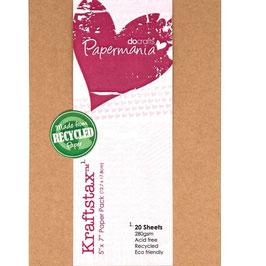 "Papermania-Cardstock 5x7"""