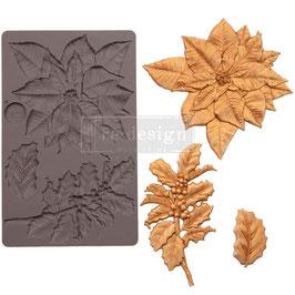 Re-Design Prima Marketing-Silikonform/Perfect Poinsettia