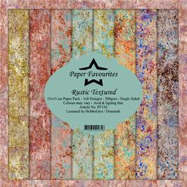 "Paper Favourites-Rustic Textured 6x6"""