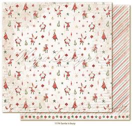 Maja Design-Happy Christmas/Santa is busy
