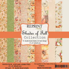 """Reprint-Shades of Fall Collection 8x8"""""""