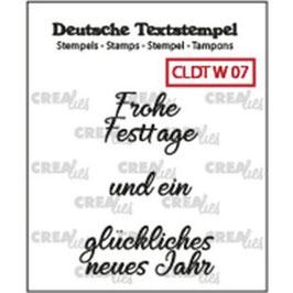 """Crealies-Clear Stamps """"Weihnachten 07"""""""