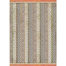 Stamperia Reispapier A3-Amazonia DFSA3087