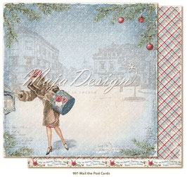 Maja Design - Christmas Seasons - Mail the postcards - 12x12""