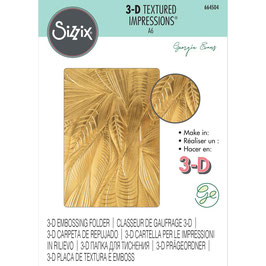 Sizzix-3D Prägeschablone/Fallen Leaves