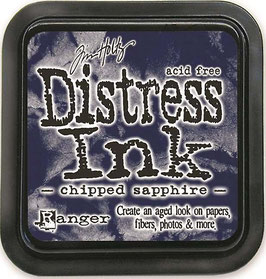 Distress Ink Stempelkissen-chipped sapphire